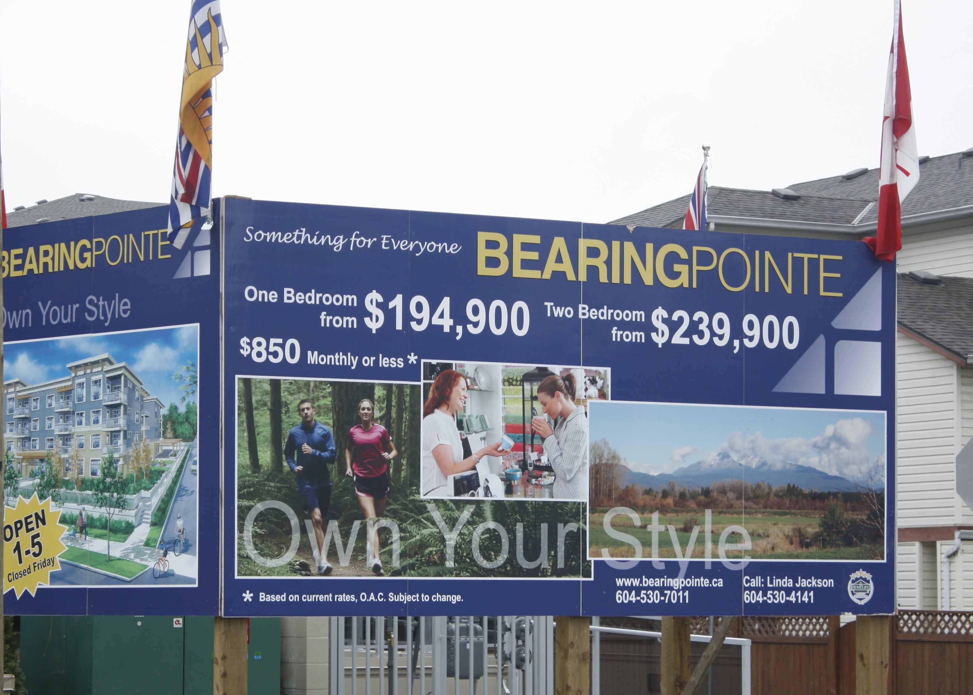 Bearing Pointe billboards