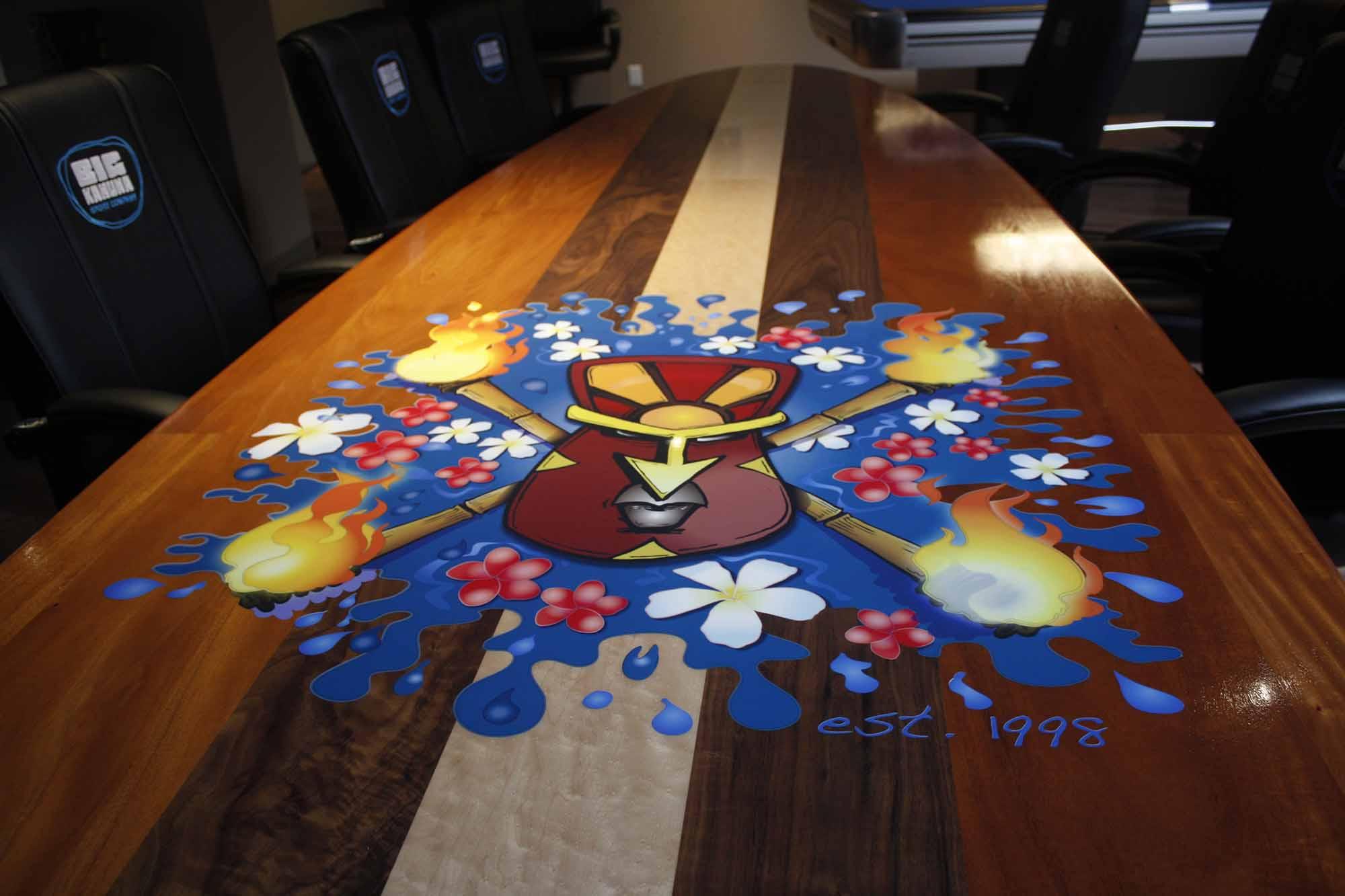Big Kahuna Board table