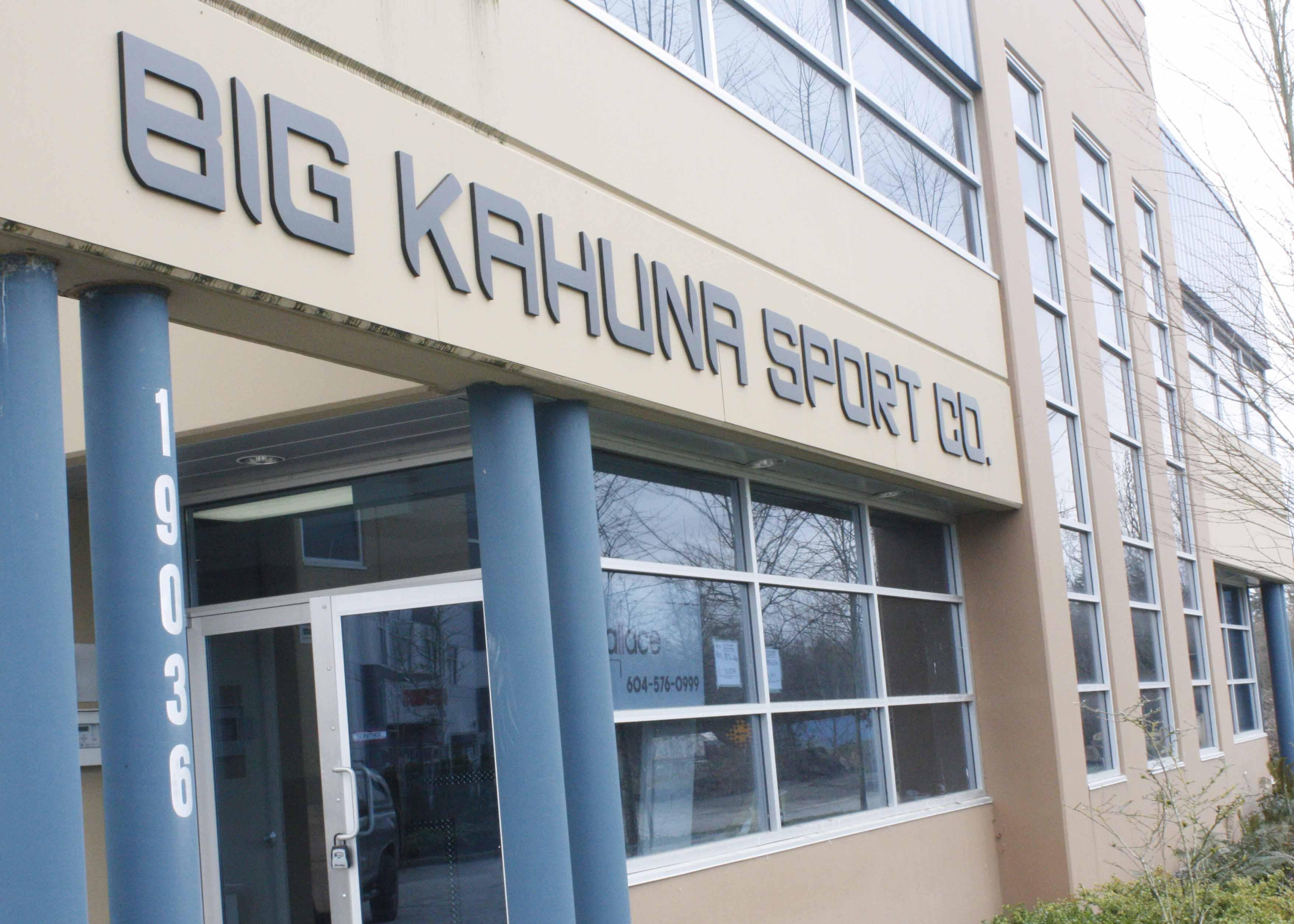 Big Kahuna exterior sign