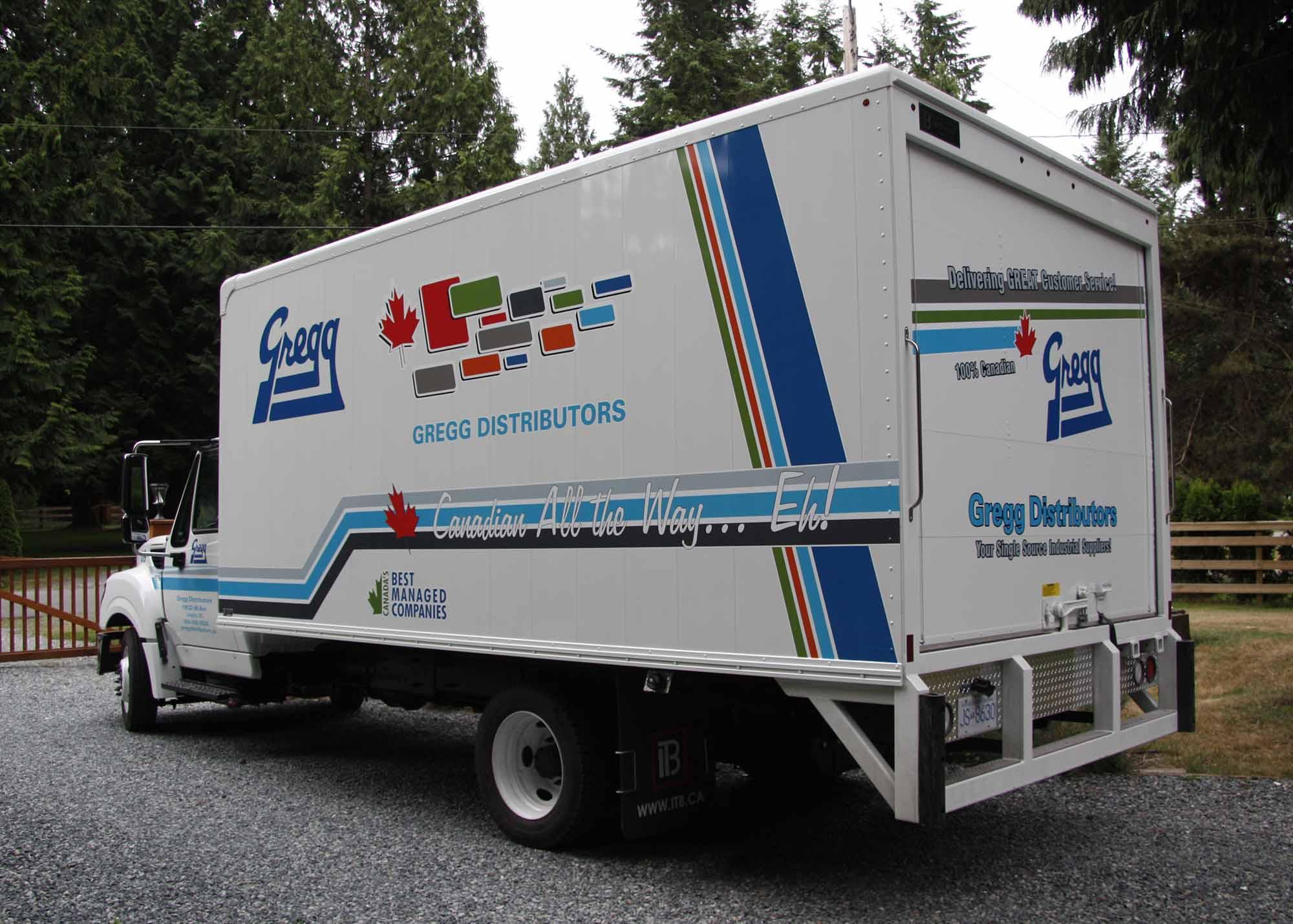Gregg 5 ton truck