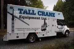 Tall Crane 5 ton truck