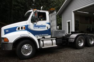 A partial wrap for Bayview Towing
